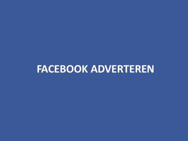 Facebook-Advertentie-Toerisme